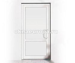 Пластиковая глухая дверь