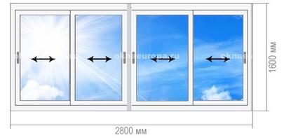Остекление балконов 1605-12