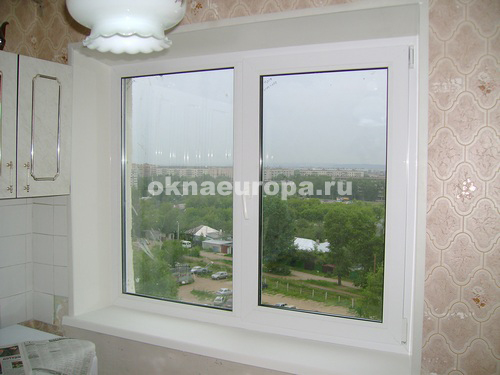 Окна, остекление балконов в домах серии 1605-12.