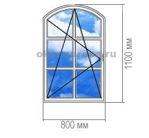 арочные окна купить