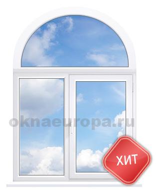 Полуциркульные арочные окна