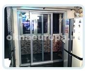 Герметичные раздвижные двери на балконе/лоджии