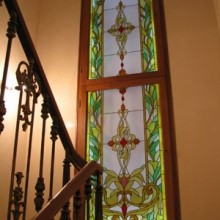 Декоративные окна с витражом