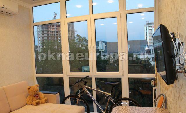 Остекление балконов в городе серпухов.