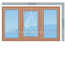 Цена на деревянные окна типовых размеров