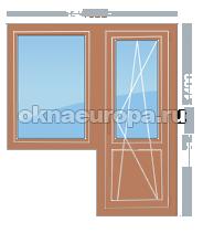 Деревянные окна со стеклопакетом недорого