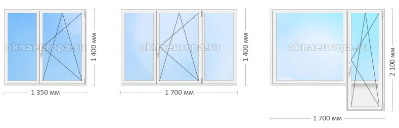 Цены на окна Rehau Blitz