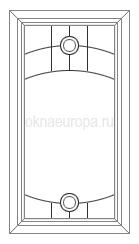 Окна с витражами