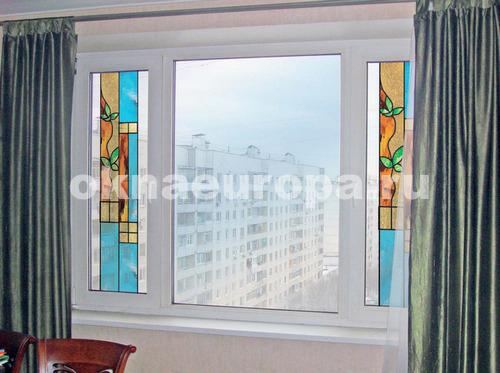 Дизайн пластиковых окон в частном доме