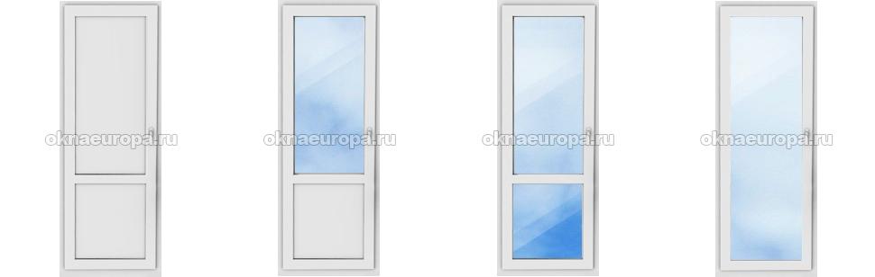 Популярные способы заполнения балконной двери