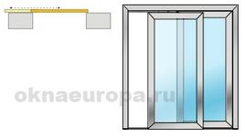 Раздвижные балконные двери ПВХ