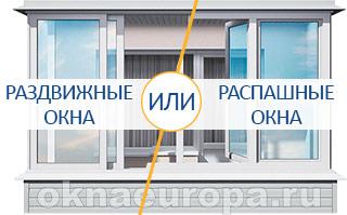 Системы балконного остекления
