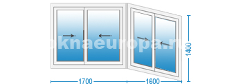 Сколько стоит балконное окно
