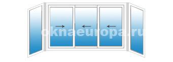 Цена на остекление балконов Provedal