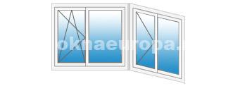 Цены на остекление Рехау для балконов