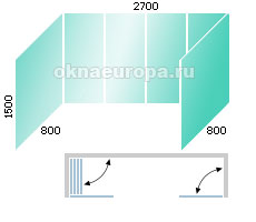 Как узнать цены на безрамное остекление балконов