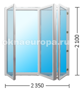 Цена на раздвижные двери