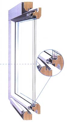 Деревоалюминиевые окна