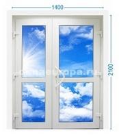Цена на дверь со стеклопакетом