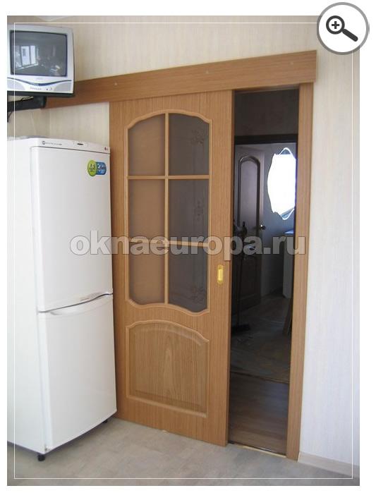 Одностворчатая дверь купе