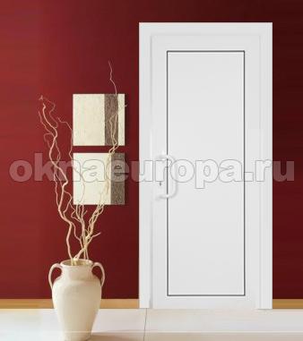 Двери ПВХ как межкомнатные