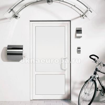Глухие двери ПВХ