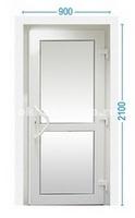 Стандартные размеры входной двери со стеклопакетом