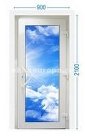 Стеклянный вариант двери