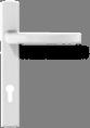 Квадратная ручка - белая