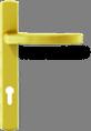 Квадратная ручка - золото