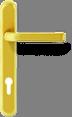 Круглая ручка - золото