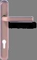 Круглая ручка - титан