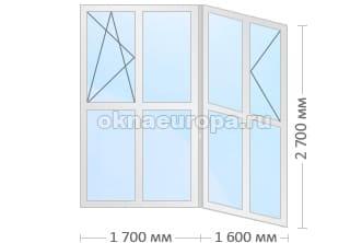 Размеры французского окна