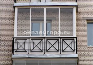 Французское остекление балконв