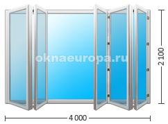Цена на двери гармошка FS portal