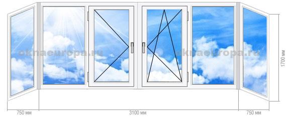 окна ПВХ II 29