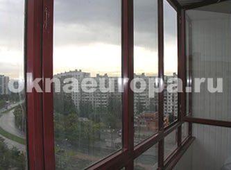 Окна и остекление балконов в домах серии ii68.