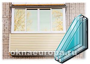 Как выбрать стеклопакеты для балкона?