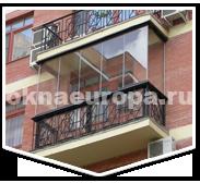 Безрамное остекление балкона Lumon