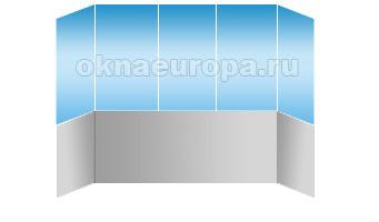 Остекление и отделка балконов внутри
