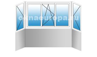 Цены на остекление и отделку балконов под ключ