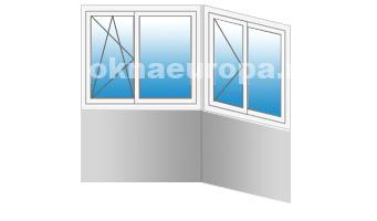 Стоимость остекления и отделки балкона