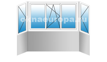Стоимость остекления и утепления балконов