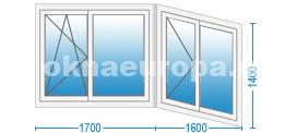 Цены на остекление балконов в г. Клин