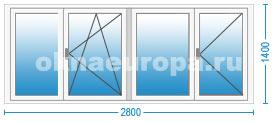 Цены на пластиковые окна в Коломне с монтажом