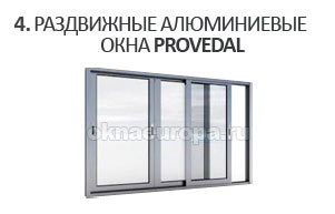 Алюминиевые окна в г. Солнечногорск