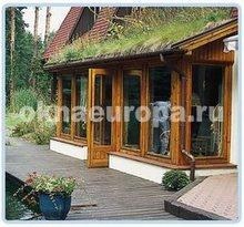 Остекление деревянных веранд