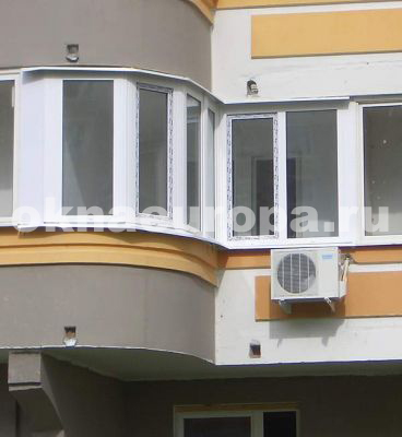 Окна и остекление балконов в домах серии п-3.