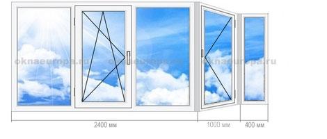 Окна для п-44 т. остекление балконов и лоджий. выгодно!.