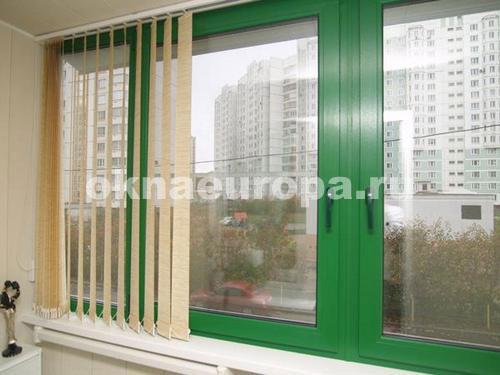 Окна и остекление балконов в домах серии п-30.